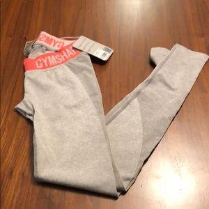 XS gray gym shark legging